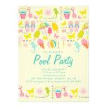 Es ist eine Sommer-Strand-Pool-Party Einladung