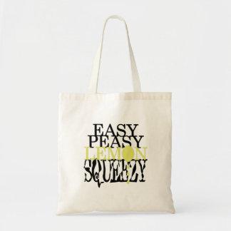 Es ist einfache Peasy Zitrone Squeezy! Tragetasche