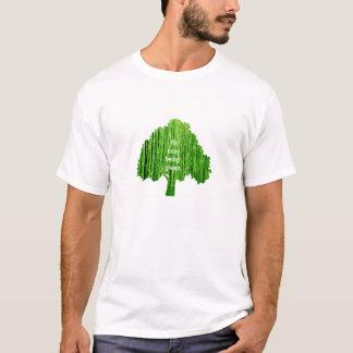Es ist einfaches Sein grün T-Shirt