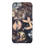 """""""Es ist ganz über die Katzen"""" iPhone 6 Fall Barely There iPhone 6 Hülle"""