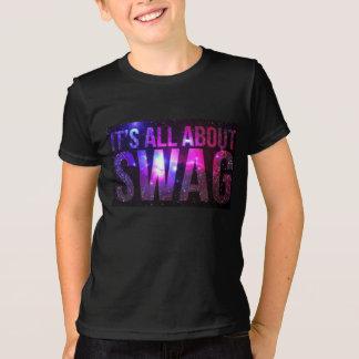 Es ist ganz ungefähr Einfluss-T - Shirt