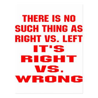 Es ist gegen Unrecht recht Postkarte
