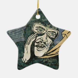 Es ist Geheimnis! Keramik Ornament