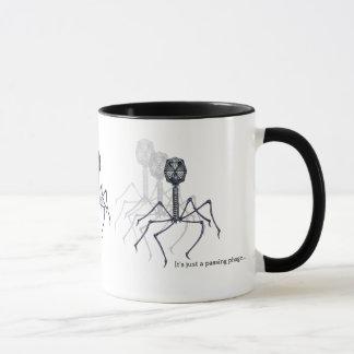 Es ist gerade ein überschreitenes Bakterium… Tasse