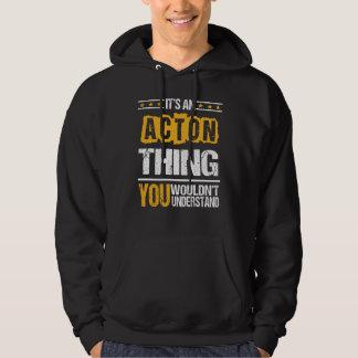 Es ist gut, ACTON-T-Shirt zu sein Hoodie