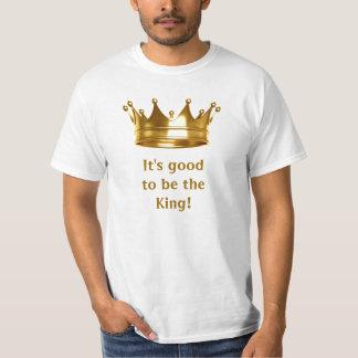 Es ist gut, der König Tee zu sein