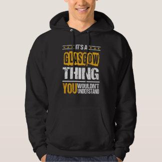 Es ist gut, GLASGOW-T-Shirt zu sein Hoodie