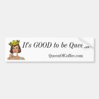 Es ist GUT, Königin zu sein! Autoaufkleber