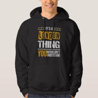 Es ist gut, LONDON-T-Shirt zu sein Hoodie