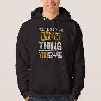 Es ist gut, LYON-T-Shirt zu sein Hoodie