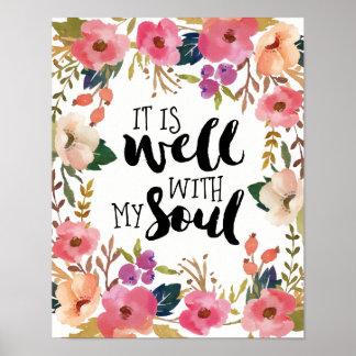 Es ist gut mit meinem Soul Poster