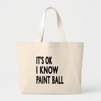 Es ist ich kennt Farben-Ball OKAY Taschen