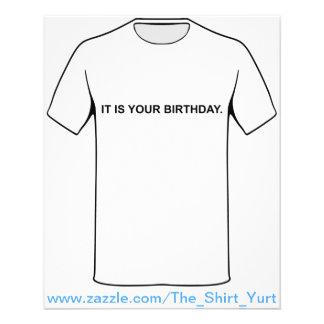 Es ist Ihr Geburtstag