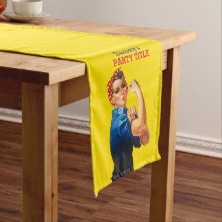 Es ist Ihre Gewohnheit Rosie, den Party dieses Kurzer Tischläufer