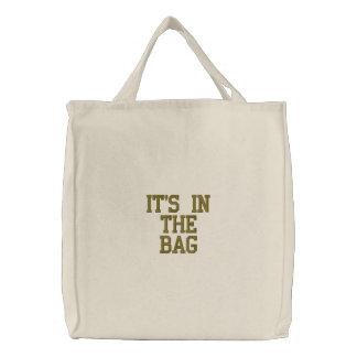 """""""Es ist in der Tasche"""" Tasche"""