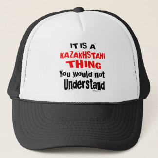 ES IST KAZAKHSTANI SACHE-ENTWÜRFE TRUCKERKAPPE