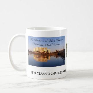Es ist klassisches Charleston Kaffeetasse