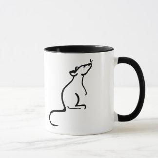 Es ist Logo einer Ratte Welt Tasse