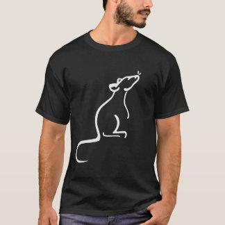 Es ist Logo-Shirt einer Ratte Welt T-Shirt