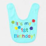Es ist mein 1. Geburtstag! Lätzchen