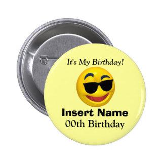 Es ist mein Geburtstags-Knopf Runder Button 5,1 Cm