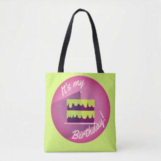 Es ist meine Geburtstags-Kuchen-Tasche durch Aleta Tasche