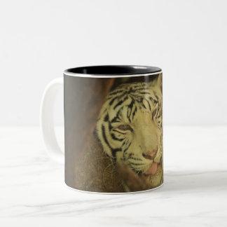 Es ist Montag hier ist Ihr Tiger Cup Zweifarbige Tasse