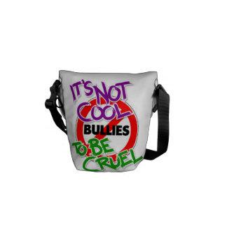 Es ist nicht coole Bote-Tasche Kuriertasche