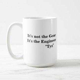 Es ist nicht der Gang, es ist der Ingenieur Kaffeetasse