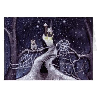 Es ist nicht lange vorher Weihnachten/die Hexe Karte