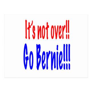 Es ist nicht vorbei!!  Gehen Bernie!!! Postkarte