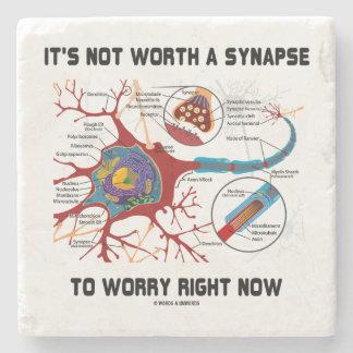 Es ist nicht wert eine Synapse, zum sich des Steinuntersetzer