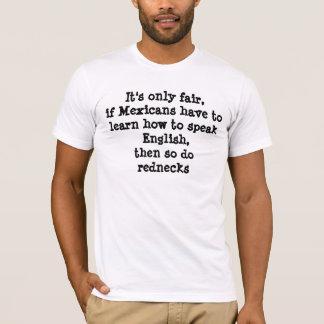 Es ist nur angemessen, wenn Mexikaner tolearn wie T-Shirt