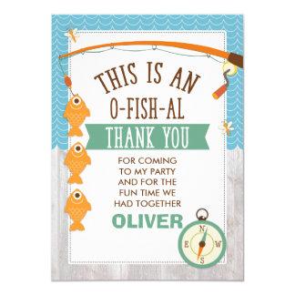 Es ist O-Fish_Al Geburtstag dankt Ihnen zu Karte