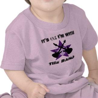 Es ist O K das ich mit DEM BAND bin T Shirts