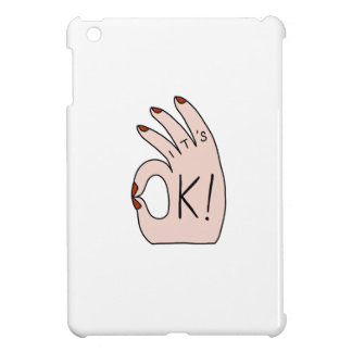 Es ist OKAY! Shirts, Zusätze, Geschenke iPad Mini Hülle