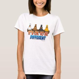 Es ist OKAY, unterschiedlich zu sein T-Shirt
