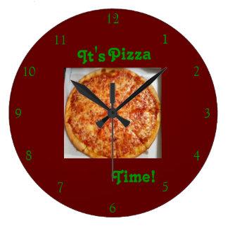 Es ist Pizza-Zeit! Uhr