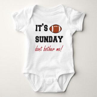 Es ist Sonntag stört mich nicht! Babybodysuit Baby Strampler