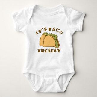 Es ist Taco Dienstag Baby Strampler
