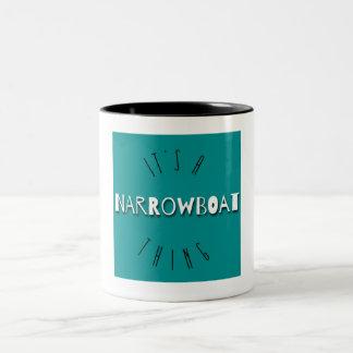 """""""Es ist Tasse einer Narrowboat Sache"""""""