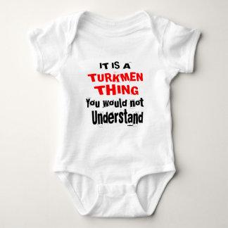 ES IST TURKMENISCHE SACHE-ENTWÜRFE BABY STRAMPLER