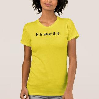 Es ist, was es das feine Jersey S/S der Frauen ist T-Shirt
