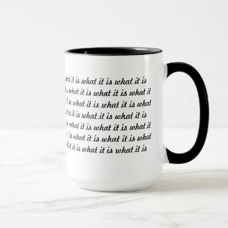 Es ist, was es ist tasse