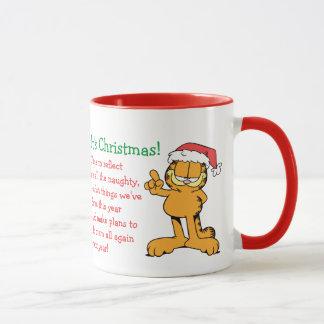 Es ist Weihnachten! Tasse