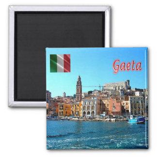 ES - Italien - Gaeta Medioevale - Ansicht vom Meer Quadratischer Magnet