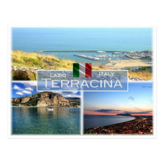 ES Italien - Lazio - Terracina - Postkarte