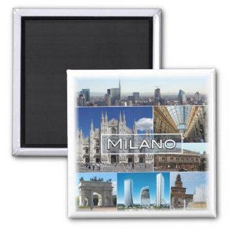ES * Italien - Mailand Quadratischer Magnet