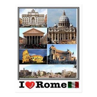ES Italien - Rom - Postkarte