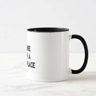 Es kam von einem dunklen Platz Tasse